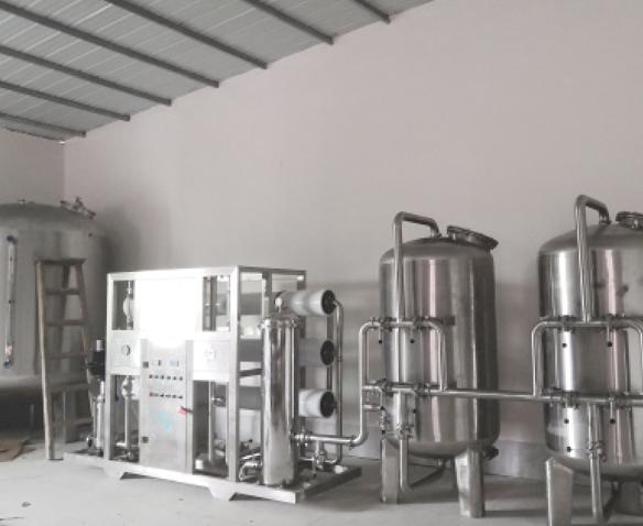 重庆矿泉水设备、山泉水设备、纯净水设备等水处理设备工程案例