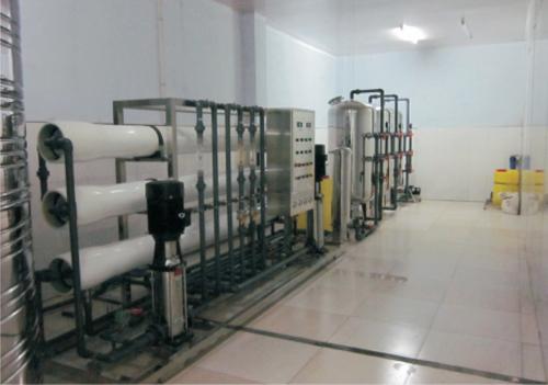 纯净水设备工程案例