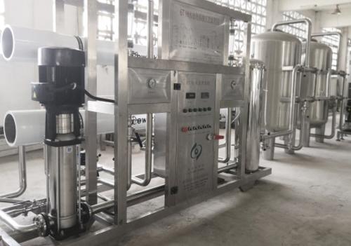 云南山泉水设备案例